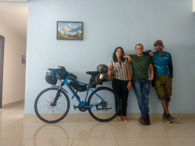 Cycling from India to Singapore