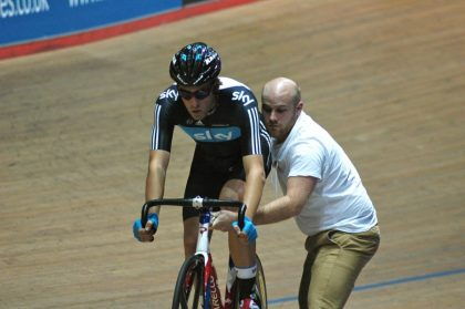Alex Dowsett Austrailian Pursuit - ©Copyright Chris Dando @Cycling Shorts.