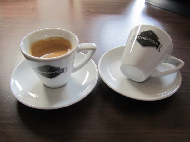 SuperDomestique Espresso Cup Set ©Nichiless Dey