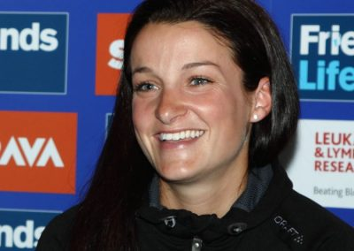 Lizzie Armitstead Stage 4 of Women's Tour Interview