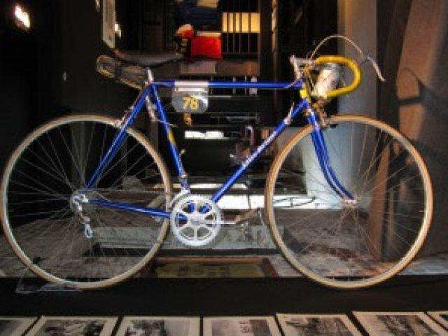 1952 Tour of Britain winning bike by Ellis-Briggs