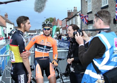 Jacob Scott & Marcin Bialoblocki Interview – Tickhill GP