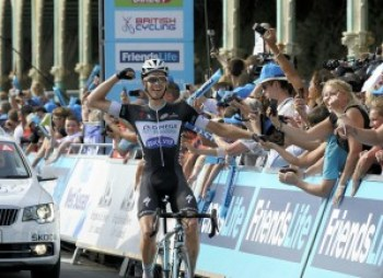 Julien Vermote wins Stage Seven