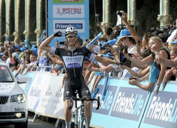 Julien Vermote wins Stage Seven