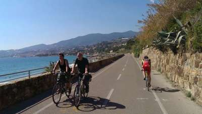 San Remo coastal cycle route