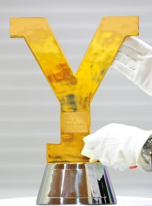 Tour de Yorkshire Trophy Polished