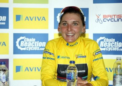Yellow Jersey – Lisa Brennauer Stage 4 Women's Tour