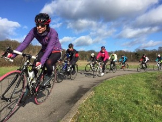 Women Only Session at Redbridge Cycle Circuit