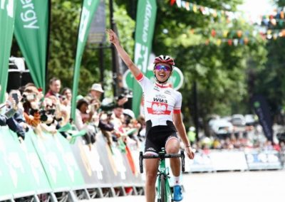 Interview – Katarzyna Niewadoma OVO Women's Tour Stage 1 Winner
