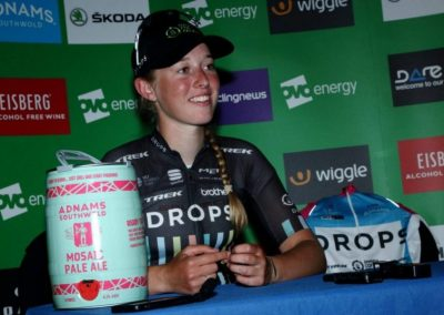 Interview – Alice Barnes, Best British Rider Stage 3 OVO Womens Tour