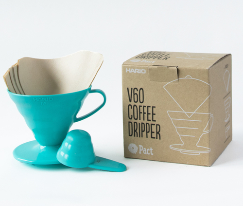 FREE Hario V60 Coffee Filter with Pact Coffee