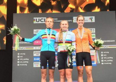 Interview – Junior Worlds Women's Road race 3rd – Lieke Nooijen -Netherlands