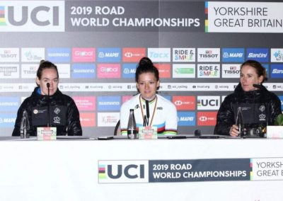 UCI World Road Championships Women's Individual Time Trial Press Conference