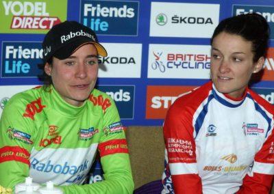 Vos & Armitstead Stage 2 – Women's Tour Interview