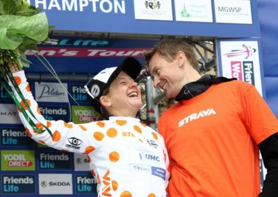 Hannah Barnes & Sharon Laws Women's Tour Interview