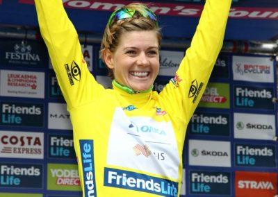 Emma Johannsson Stage 1 Women's Tour Interview