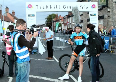 Harry Tanfield Yesss Electrical Tickhill GP Winner – Interview