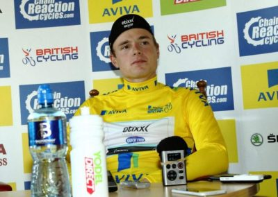 Interview – Stage 2 Aviva Tour of Britain Yellow Jersey