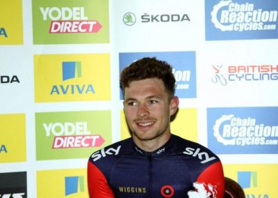 Interview – Owain Doull – Stage 3 Aviva Tour of Britain 2015