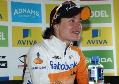 Interview – Marianne Vos – Stage 4 Winner – AVIVA Women's Tour 2016
