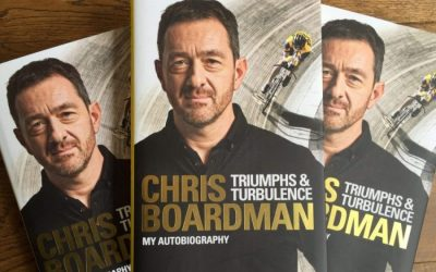 Win Signed Chris Boardman – Triumphs and Turbulence