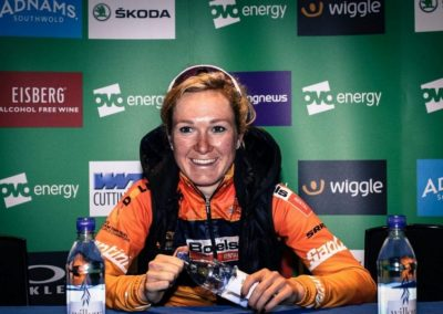 Interview – Amy Pieters – Stage 2 Winner – OVO Womens Tour