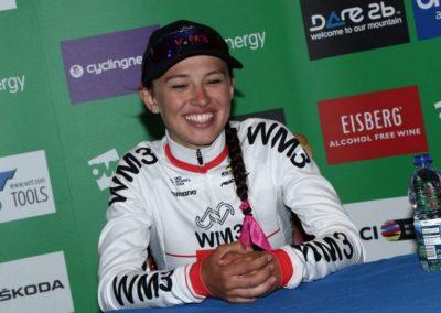 Interview – Green Jersey Katarzyna Niewiadoma – Stage 4 – OVO Women's Tour