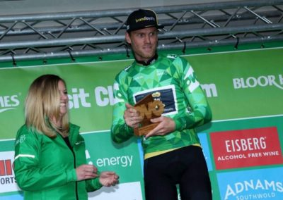 Interview – Lars Boom Green Jersey holder after Stage 7 – OVO Tour of Britain 2017