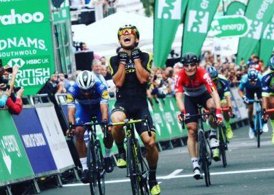 Interview – Caleb Ewan – London Stage 8 Winner – OVO Energy Tour of Britain 2018