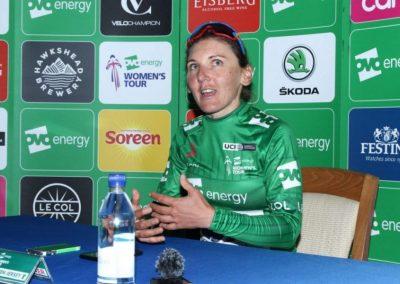 Interview – Lisa Brennauer OVO Women's Tour Green Jersey Stage 3