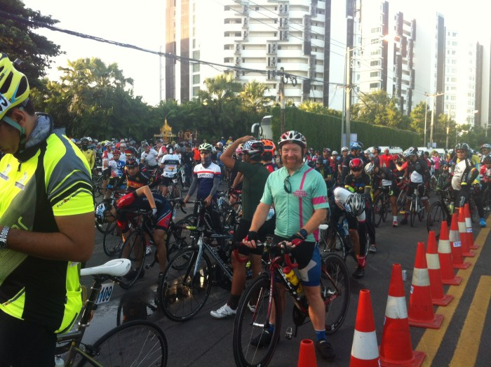 At the start line, Rayong, Thailand