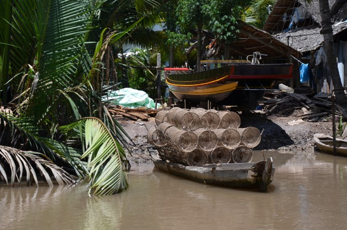 Life in the Mekong Delta, Ben Tre, Vietnam