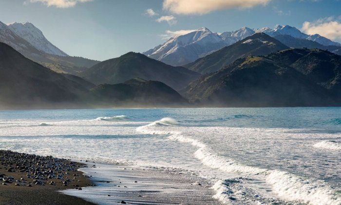 The Kaikoura ranges, South Island, New Zealand