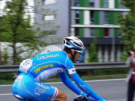 Alan Marangoni namens Colnago-CSF Inox (foto: © Tim van Hengel/Cyclingstory.nl)