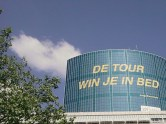 ...'De Tour win je in bed' van Joop Zoetemelk...