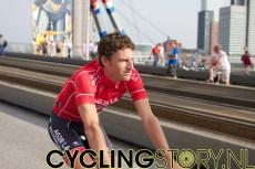 Zwitsers kampioen Martin Elmiger van AG2R-La Mondiale (foto: © Laurens Alblas / Cyclingstory.nl)