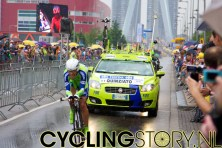 Quinziato van Liquigas (foto: © Laurens Alblas/Cyclingstory.nl)
