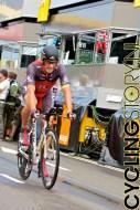 Lance Armstrong van RadioShack kwam tekort voor de eerste plaats (foto: © Laurens Alblas/Cyclingstory.nl)