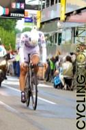 """Op de helm van Fabian Cancellara: """"Olympic Champion & World Champion"""". Uiteindelijk zou hij de sterkste blijken te zijn (foto: © Laurens Alblas/Cyclingstory.nl)"""
