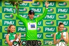 En ook nog eens de groene trui (foto: © Laurens Alblas/Cyclingstory.nl)