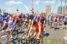 Alexander Kolobnev (links) is een serieuze kandidaat voor de etappezege. (foto: © Laurens Alblas/Cyclingstory.nl)