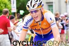 Robert Gesink zat ook redelijk voorin gevestigd (foto: © Laurens Alblas/Cyclingstory.nl)