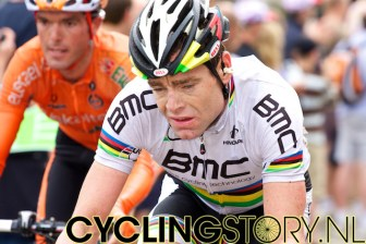 Cadel Evans zag het allemaal wat minder rooskleurig in (foto: © Laurens Alblas/Cyclingstory.nl)
