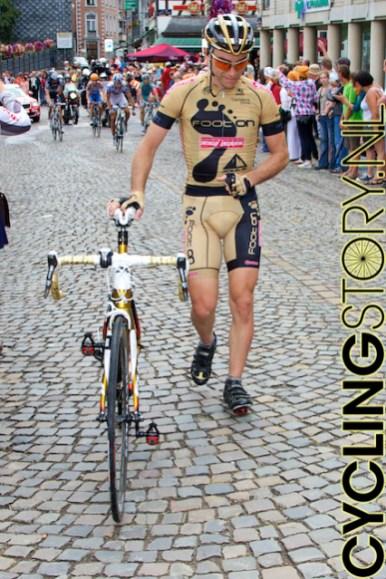 Naast de valpartijen was er natuurlijk ook gewoon pech (foto: © Laurens Alblas/Cyclingstory.nl)