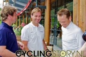 Op de vraag of hij nog meer gaat doen volgend jaar grapte Moerenhout dat hij volgend jaar de Erik Breukink misschien wel van zijn baan gaat beroven (foto: © Laurens Alblas/Cyclingstory.nl)