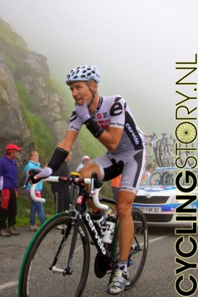 De laatste renner van de dag was Andreas Klier (foto: © Laurens Alblas/Cyclingstory.nl)