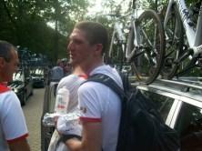 Na de finish liep ik ook nog Jurgen van den Broeck tegen het lijf. (Foto: © Tim van Dijk/Cyclingstory.nl)