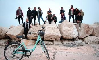 Il gruppo sui Murazzi