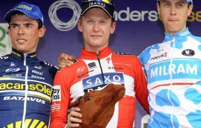 Tre danskere har været på podiet i Dwar Door Vlaanderen. Fire deltager i årets udgave