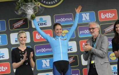 Cecilie Uttrup Ludwig fortsat i front af WorldTour konkurrence